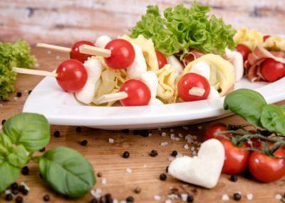 Mozzarella-Spieße